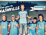 "Vegas Bookies Favor Boy Band ""One Direction"" over Titans by 14 Points"