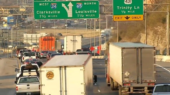 TDOT, I-65 at Trinity Reunite After Brief Separation | The Rhinestone