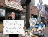 WZTV's Scott Couch Spends Day Busking as Pence Impersonator