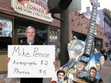WZTV's Scott Couch Spends Day Busking as PenceImpersonator
